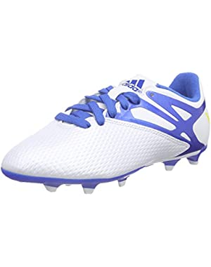 Messi 15.3 FG/AG White Junior Soccer Cleats