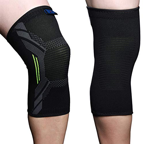 5563ee5e2d S&J FIT Knee Brace for Arthritis pain and Support Meniscus Tear Compression  Knee Sleeves for Men Women plus size S/M/L/XL Single