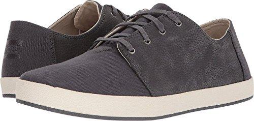 TOMS Men's Payton Forged Iron Grey Nubuck/Hemp Lace Up Shoes (10.5)