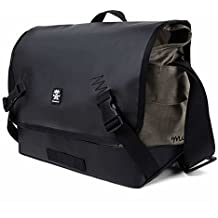 "Crumpler Muli Photo Sling 8000 Bag for Semi-Professional SLR Camera with Lens, 15"" Laptop and 7.9"" Tablet, Black Tarpaulin"