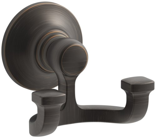 - KOHLER K-11414-2BZ Bancroft Robe Hook, Oil-Rubbed Bronze