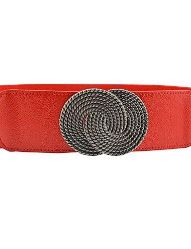 HAN Fashion NMC Ladies Stretch Red Fashion Belt 1rS1nwqx