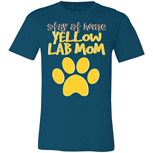 (Yellow Lab Mom Labrador Retriever Dog Mothers Day - Labs Shirt,Tees with Dogs)