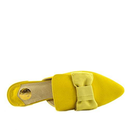 Kick Footwear Zapatos de Cordones Para Mujer amarillo