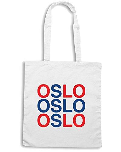 T-Shirtshock - Bolsa para la compra WC0530 OSLO Blanco