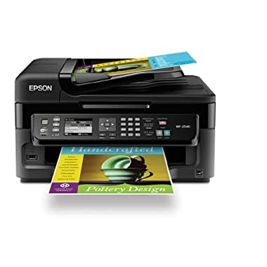 Epson WorkForce  All-In-One Wireless Color Inkjet Printer WF-2540, Black