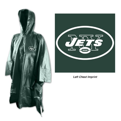 NFL New York Jets Rain Poncho