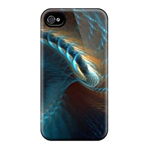 High Quality Shock Absorbing Cases For Iphone 6-abstract Spiral 3d