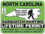 Sasquash Hunting Lifetime Permit