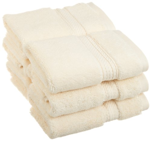 900GSM Egyptian Cotton 6-Piece Face Towel Set Cream