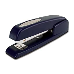 Swingline Stapler, 747, Business, Manual, 25 Sheet Capacity, Desktop, Royal Blue (74729)