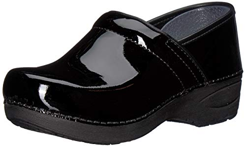 Dansko Women's XP 2.0 Clog, Black Patent, 39 Medium EU (8.5-9 -