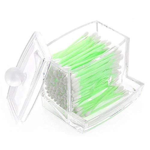 Da. WA Acrylique Transparent cotons-tiges Boîte de stockage de support Cosmétique Outil de maquillage étui de rangement Boîte à coton tiges Boîte Cosmétique étui de rangement Home Da.Wa
