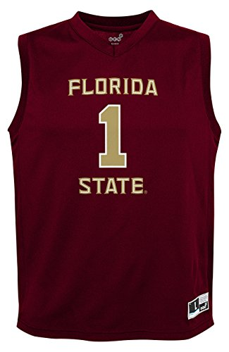 NCAA Youth Boys Fashion Basketball Jersey Florida State Seminoles, Medium (10-12), Garnet (Basketball Fsu Seminoles)