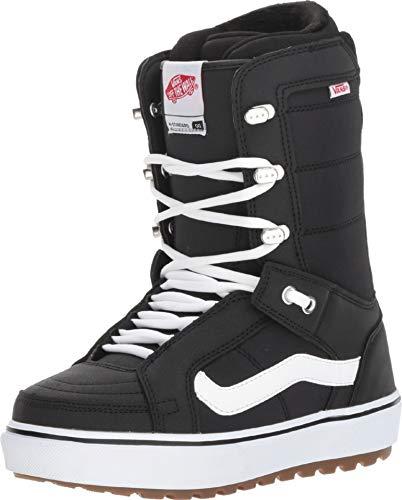 (Vans Hi-Standard OG Women's Snowboard Boots, Black/White, 2019 (6 B US))