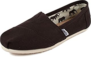 TOMS Women's Classics Shoe Chocolate Canvas Size 7.5 (B007ONJPO8) | Amazon price tracker / tracking, Amazon price history charts, Amazon price watches, Amazon price drop alerts