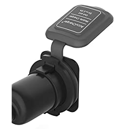 Accucharger IIP-ACC-101 2.5A USB Mobile Charger for Two-Wheeler (Compatible with Activa 4G,Aciva i,Activa 125,Dio,Aviator)