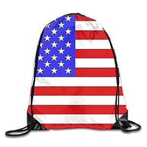 US Flag Print Shoulder Bag