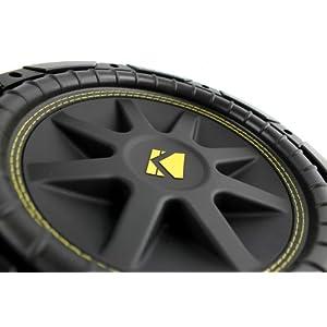 "2) New KICKER 10C104 Comp 10"" 600 Watt 4 Ohm Car Subwoofers Combo C10 10C10-4"