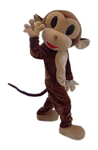 Monkey Mascot Costume Cartoon Character Adult Sz -