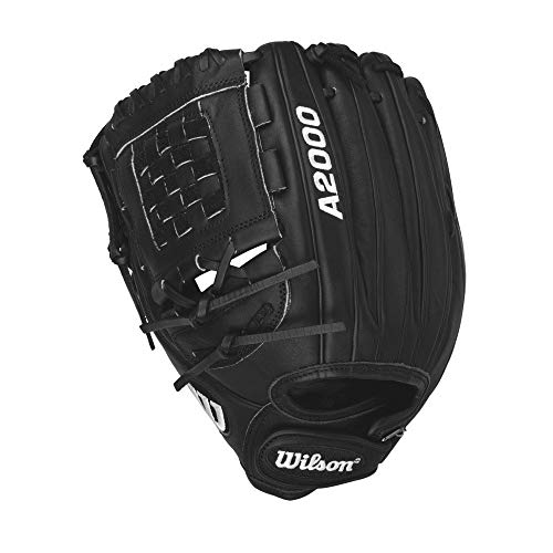 - Wilson A2000 Cat Osterman Pitcher Fastpitch Softball Glove, Black Matte, Left Hand Throw, 12-Inch