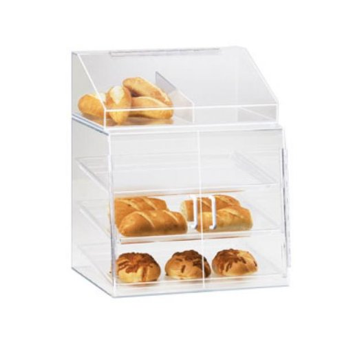 Cal-Mil Plastic Display Case Countertop Non-refrigerated P241SS