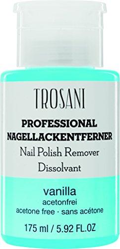 TROSANI Nagellackentferner Vanille im Pumpspender, 1er Pack (1 x 175 ml)