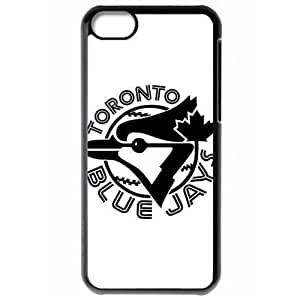 MLB Iphone 5C Black Toronto Blue Jays cell phone cases&Gift Holiday&Christmas Gifts NBGH6C9126724