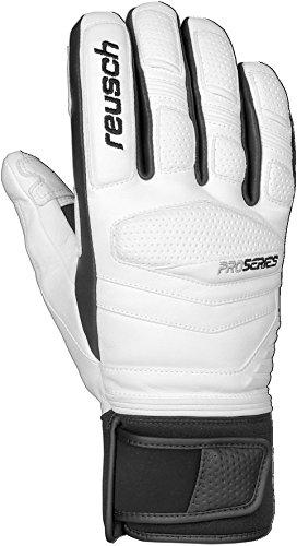 Reusch Snowsports Master Pro II Ski Gloves, Large, White/Black (Reusch Master)