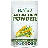 Biofinest Maltodextrin Powder – Pure Gluten-Free Non-GMO Kosher Vegan Friendly – Supplement for Pre-Workout, Weight Management, Energy, Skin Health (1000g)