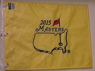 2015 MASTERS Golf Tournament Pin Flag Augusta National Jordan Spieth Wins!