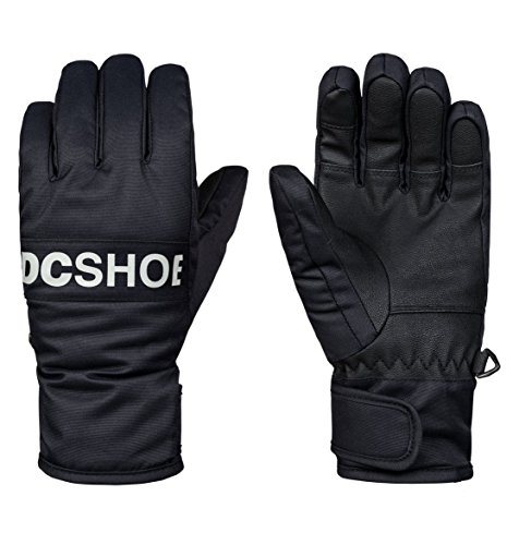 DC Shoes Boys Shoes Franchise YTH Glove - M - Black Black M