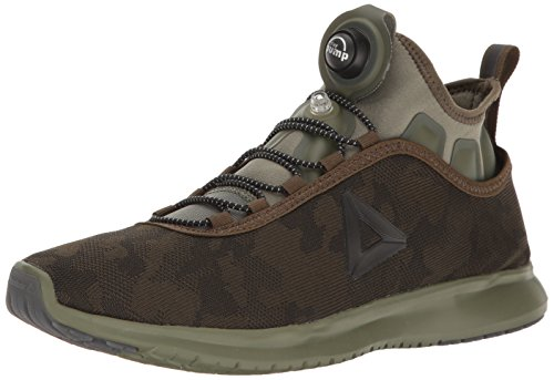 Reebok Running Pumps (Reebok Men's Pump Plus Camo Running Shoe, Moss/Hunter Green, 10 M US)