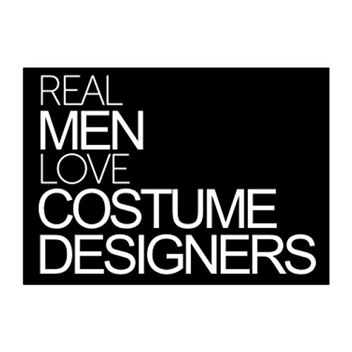 Idakoos - Real men love Costume Designers - Occupations - Sticker Pack (Funny Occupation Costumes)