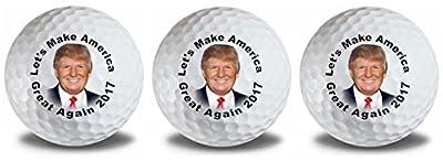 Trump Make America Great 2017 Golf Balls 3 Pack