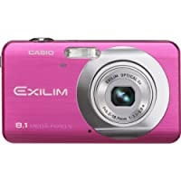Casio EX-Z80 8.1MP Digital Camera - Vivid Pink Key Pieces Review Image