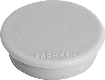 Franken HM38 Lot de 10 aimants 38 mm Charge max 1500 g Noir