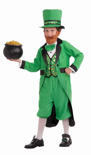 Forum Novelties Mr. Leprechaun, Complete Costume, Child's (Baby Pot Of Gold Costume)