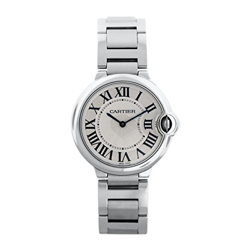Cartier Ballon Bleu 36mm swiss-quartz womens Watch 3005 (Certified Pre-owned)