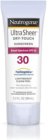 Neutrogena Ultra Sheer Dry-Touch Sunscreen, Broad Spectrum Spf 30, 3 Fl. Oz. (Pack of 2)