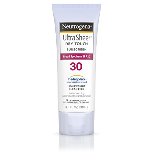 Neutrogena Ultra Sheer Dry-Touch Sunscreen, Broad Spectrum Spf 30, 3 Fl. Oz. (Pack of 2) (Sunblock Lotion 30 Spf)