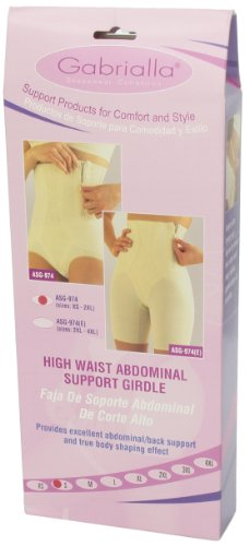 Gabrialla Abdominal Waist Support Body Shaping Slimming Girdle (reduces up to two sizes) Small by GABRIALLA (Image #7)