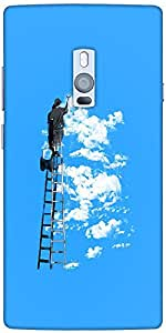 Snoogg Painting The Clouds 2676 Designer Protective Back Case Cover For One P...