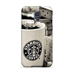 Protector Hard Cell-phone Case For Samsung Galaxy S5 With Customized Stylish Starbucks Pictures MarcClements