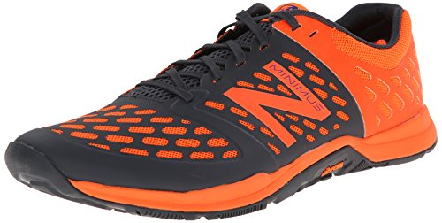 New Balance Men's MX20BS4 Cross Minimus Training Shoe, Orange/Black, 7.5 2E US