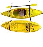 Gear Up Hang-2 Deluxe Kayak Storage Strap, Black, Outdoor Stuffs