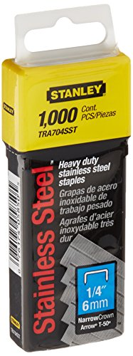 stanley-tra704sst-1-4-inch-heavy-duty-stainless-steel-narrow-crown-staples-1000-count