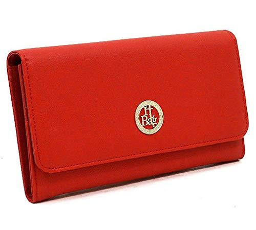 T I Alba New Wallet Organizer Red Clutch Ea0SwqA