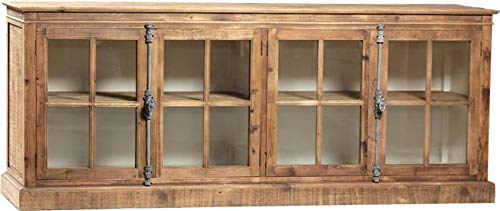 Sideboard Dovetail Olson Classic French Hardware Subtle Stain Wax Off-Wh