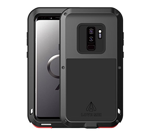 lowest price db040 83bed Samsung Galaxy S9 Plus Case,Bpowe Super Shockproof Silicone Aluminum Metal  Armor Tank Heavy Duty sturdy Protector Cover Hard Case for Samsung Galaxy  ...